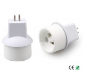 E-Simpo® 15-pack MR16 to Gu10 Adapter,MR16 to Gu10 Lamp Base Converter, Z1077