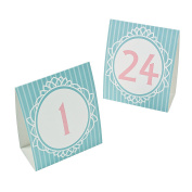 Vintage Collection Table Tent Cards
