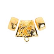 Goldtone Scarf Rings