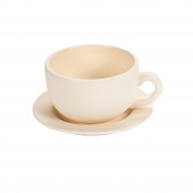 DIY Ceramic Tea Cup Planters