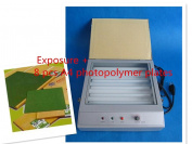Cyana® hood quality UV Exposure Unit for Hot Foil Pad Printing PCB + 8 pcs A4 photopolymer plates