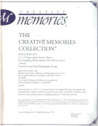 Creative Memories Collection, 12x12 Polypropylene Portrait Sleeves Refill Pages RCM-12PS for Expanding Album CM-12 and CM 12B, 5 sleeves