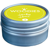 Woodies Dye-Based Ink Tin-Lucky Lime