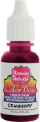 Clearsnap Holding 8221 Cranberry ColorBox Premium Dye Ink by Stephanie Barnard Refill Bottle, 15ml