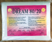 Quilter's Dream 80/20, Natural, Select Loft Batting - Queen Size 270cm x 240cm