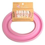 Ever Sewn Bobbin Nest~Pink, Bobbin Ring,Storage,Holder, Regular Size