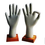 Kukin Mannequin hand for gloves display, software hand models