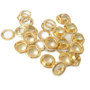 www.easygraphic.co.uk 200 Sets Solid Brass Eyelets Pvc Vinyl Banner #3, Size 8mm
