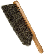 Magnolia Brush 59 Beaver-Tail Counter Duster, Tampico Bristles, Grey