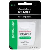 Reach Mint Waxed Dental Floss, 55 Yards
