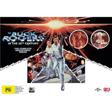 Buck Rogers In The 25th Century - The Complete Series (region 4)