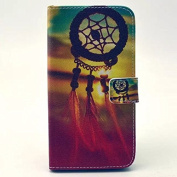 Galaxy Grand Prime G530 Case,PU Leather Case,A-slim(TM)Premium PU Leather Wallet Flip Protective Skin Case with Magnetic Closure Case for Galaxy Grand Prime G530(Dream Catcher).