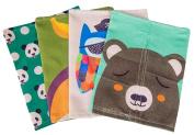 Hestio Cartoon Pattern Linen Paper Box Tissue Holder Home Decor