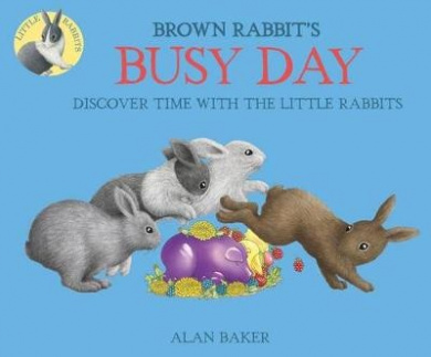 Brown Rabbit's Busy Day (Little Rabbit Books)