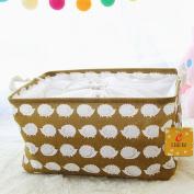 Laundry Basket / Laundry Hamper, EgoEra Foldable Laundry Basket Folding Kids and babys Toys Organiser Storage Basket Clothes Holder, Hedgehogs