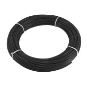 Express Water Black 0.6cm Quarter Inch PE Tubing for Reverse Osmosis RO System 30m