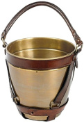 Go Home Leather Handle Champagne Bucket