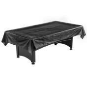 Pool Table Billiard Dust Cover Black 2.1m - 2.4m