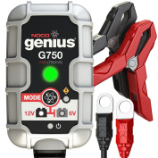 Genius G750 6V - 12V ATV Battery Smart Charger / Maintainer .75A 750mA
