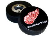 Detroit Red Wings Basic Logo Hockey NHL Puck Bottle Opener