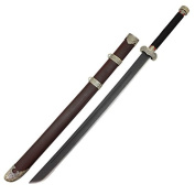 Qing Dynasty Manchu Dao Chinese Broadsword Wooden Cosplay Sword