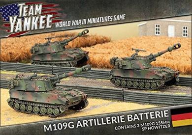 Team Yankee West German M109 Artillerie Batterie