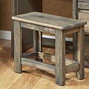 Driftwood Desk Bench