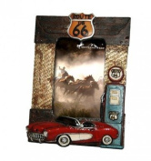 Montana West Route 66 Resin Photo Frame