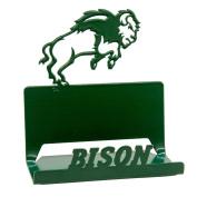 North Dakota State University NDSU Bison Business Card Holder - Green