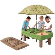 Elastic Tie-Downs, Styling Blends Naturally Playful Sand & Water Activity Centre, Multicolor