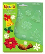 Makin's USA Push Moulds - Christmas Nature