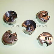 5 PCS. INDUSTRIAL SEWING MACHINE BOBBIN CASE FOR JUKI CONSEW SINGER BROTHER