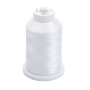 Sulky Of America 268d 40wt 2-Ply Rayon Thread, 1500 yd, Bright White