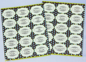 SPICE STICKERS. Decorative Labels for Spices. Black Text. Great for kitchen organisation - 30 PACK
