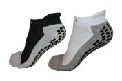 #1 Non Slip Ankle Socks, THE BEST Adult Hospital and Home Care Socks, Skid Resistant, Slipper Socks, Unisex Gripper Socks