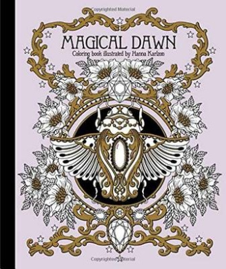 Magical Dawn Coloring Book: Published in Sweden as -Magisk Gryning-