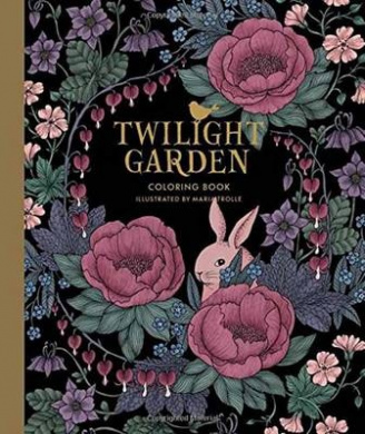 Twilight Garden Coloring Book: Published in Sweden as -Blomstermandala-