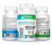 Magnesium Glycinate Muscle & Nervous System Complex with L-Theanine, Passionflower and Valerian Root