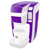 Solids Collection Purple - Decal Style Vinyl Skin fits Keurig K10 Mini Plus Coffee Makers