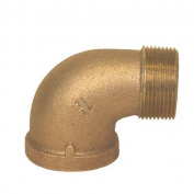 00103075 90 degree Bronze Street Elbows