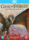 Game of Thrones: Series 1 - 6 [Region 4]