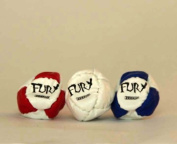 Triple the Fury - Zeekio Fury Footbag - 8 Panel, Sand Filled for Stalls -3 Sack Set