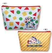 """Crayon Shin-chan """"Cute Small Bag"""" White × Orange KS-PO021"""