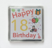 Happy 18th Birthday Gift - Lucky Sixpence Keepsake