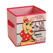 ARTSMAX Child Drawer Storage Box With Handle Storage File Cube Storage 31 × 31 × 31CM