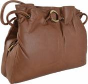 Gigi Othello Soft Leather 3 Section Shoulder Handbag Various Colours - Best Seller 4323