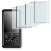 6x Golebo Crystal Clear screen protector for FiiO X3 -