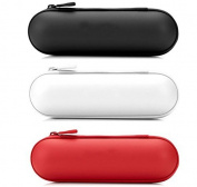 Snowwer Portable Zipper Hard Case Cover Bag Pouch Shell for Beats Pill Speaker Colour White