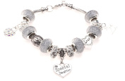 Special Daughter 21st Birthday Charm Bracelet with Gift Box Women's Jewellery