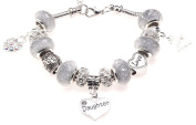 Daughter 21st Birthday Charm Bracelet with Gift Box Women's Jewellery
